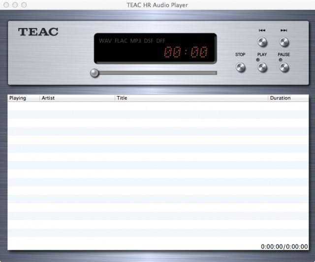 TEAC HR Audio Player | OVERVIEW | TEAC | International