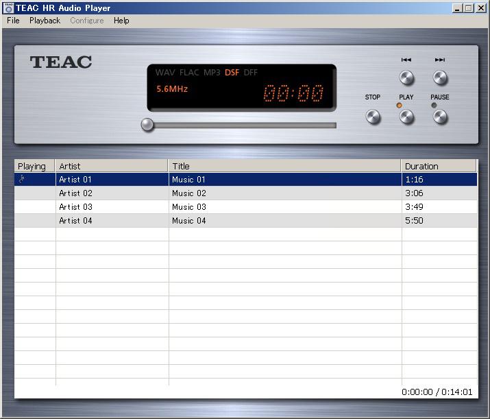 TEAC HR Audio Player | FEATURES | TEAC | International Website