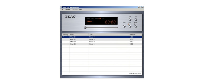 TEAC HR Audio Player | OVERVIEW | TEAC | International