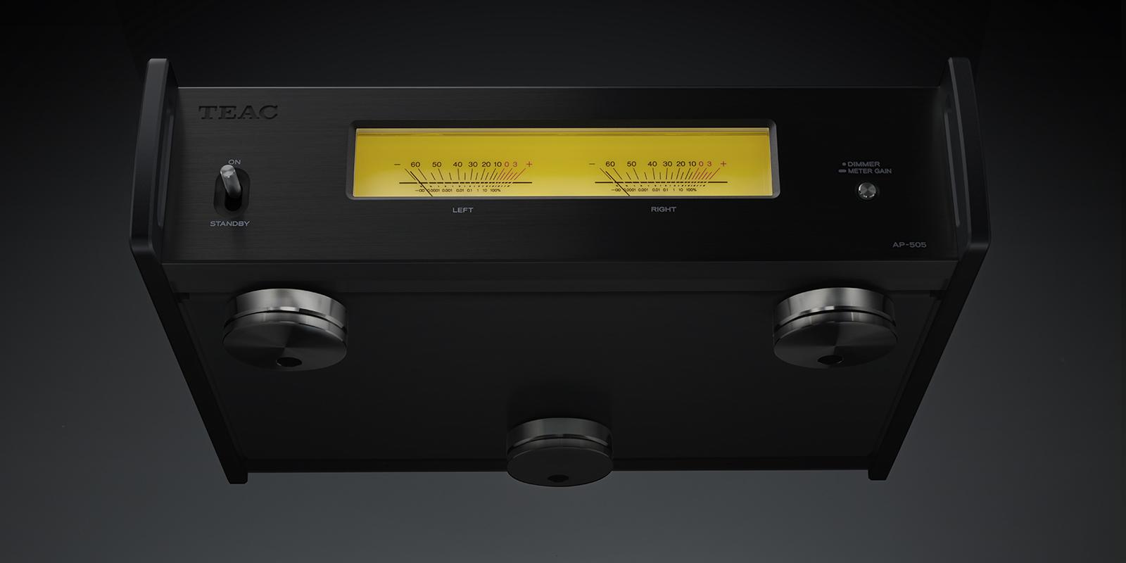 "TEAC announces an ultra-compact stereo power amplifier ""AP"