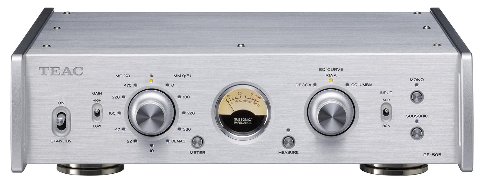 Nuevo previo de phono TEAC PE-505 Pe-505-s_front