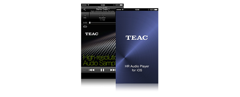 TEAC HR Audio Player for iOS/Android