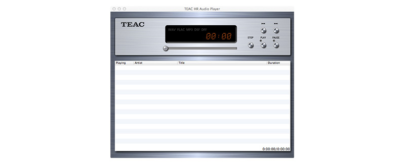 TEAC HR Audio Player